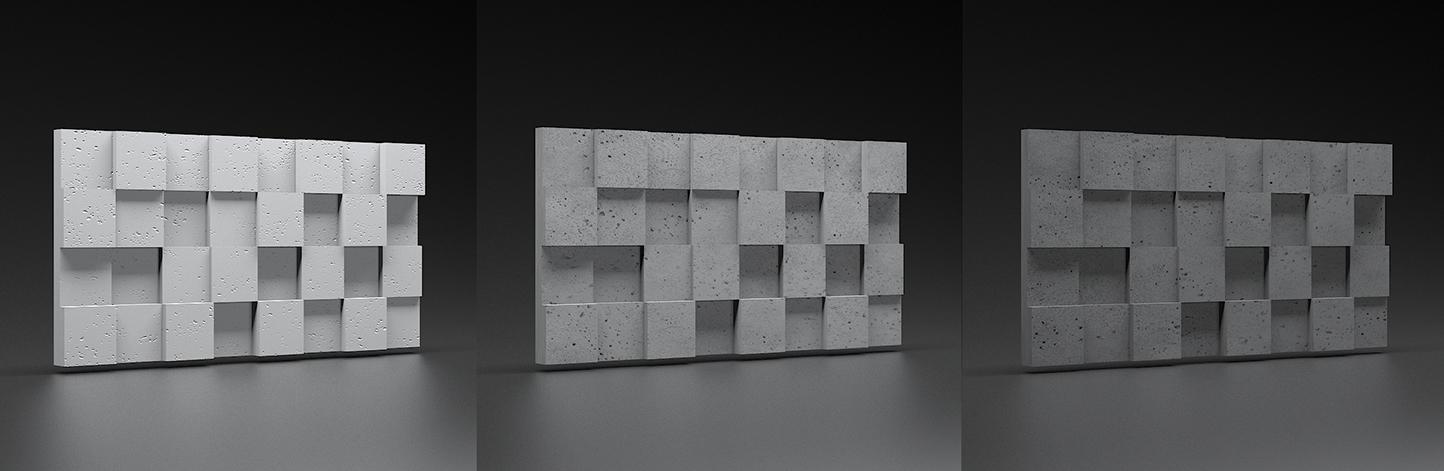 Zicaro panel 3d Pixel